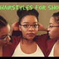 3-DIFFERENT-QUICK-EASY-Hairstyles-for-SHORT-Hair-Natural-Hair