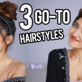 3-Easy-Quick-Hairstyles-for-Long-Medium-Wavy-Hair
