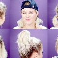 7-EASY-GYMWORKOUT-SHORT-HAIRSTYLES-TUTORIAL-Milabu