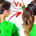 BEST-Running-Late-HACKS-HAIRSTYLES-of-2016-Life-Beauty-Hair-TIPSProjet-Diy