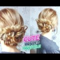CUTE-HAIRSTYLE-BRAIDED-BUN-UPDO-Awesome-Hairstyles