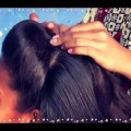 Girls-Beautiful-Front-Poof-hairstyle-in-2-Minutes
