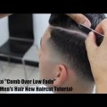 How-to-Comb-Over-Low-Fade-Cool-Mens-Hair-New-Haircut-Tutorial-Short-Hair-Hairstyles