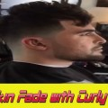 How-to-Cut-High-Skin-Fade-with-Curly-Fringe-Haircut-Viral-Hairstyle-2017