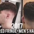 Mens-Haircut-2017-Textured-Fringe-with-Skin-Fade