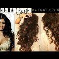 NO-HEAT-KIM-KARDASHIAN-CURLS-WAVES-HEATLESS-CUTE-SCHOOL-HAIRSTYLES-FOR-MEDIUM-LONG-HAIR-TUTORIAL-1