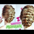 SHORT-MEDIUM-HAIR-HAIRSTYLE-FAUX-MOHAWK-BRAIDED-KNOTTED-UPDO-Awesome-Hairstyles