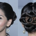 Wraparound-Double-Rope-Braided-Bun-Hairstyle-Quick-Easy-Hairstyles