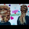 2-EASY-LAZY-HAIRSTYLES-MESSY-TOPSY-TAIL-PONYTAIL-BUN-UPDO-Awesome-Hairstyles