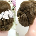 2-hairstyles-for-long-hair.-Wedding-updos