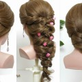 3-easy-hairstyles-for-long-hair-tutorial.-Cute-Quick