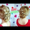 CUTE-HAIRSTYLE-MESSY-BRAIDED-BUN-UPDO-FOR-MEDIUM-OR-SHORT-HAIR-Awesome-Hairstyles