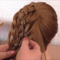 HAIR-STYLE-FOR-LONG-HAIR-5-STRAND-BRAID-HAIRSTYLE-HairGlamour-Styles-Hairstyles-Hair-Tutorial-1