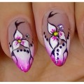 Nail-art-design-Compilation-February-2017-Part-3-hairstyles-for-long-hair-1