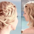 Prom-wedding-party-hairstyles-4-strand-waterfall-braid-Medium-long-hair-Hairstyles-Collection