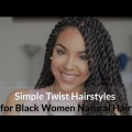 Simple-Twist-Hairstyle-for-Black-Women-Natural-Hair