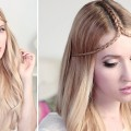 Summer-hair-tutorial-TIARA-BRAID-hairstyle-for-medium-and-long-hair-Hairstyles-Collection