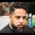 Tapered-Comb-Over-Haircut-with-Beard-Haircut-Tutorial-Popular-Hairstyles