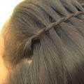 Waterfall-Braid-Hairstyle-Easy-and-Quick-Everyday-Hairstyles-for-Long-Medium-Hair