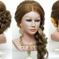 Wedding-hairstyle-with-curls-for-long-hair-tutorial-1