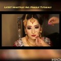 latest-Real-Bride-Engagement-Asian-Bridal-Makeup-Gold-Smokey-Eyes-And-Bright-Pink-Lipstick-2017