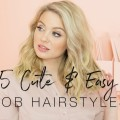 5-Cute-And-Easy-Lob-Hairstyles-Milk-Blush-Hair-Extensions