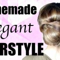 8-Minute-ELEGANT-BUN-Hairstyle-for-Medium-and-Long-Hair-How-to-do