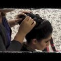 Asian-Bridal-Hairstyles-Pakistani-Indian-Wedding-Hair-Style-Updo-Bun-using-Doughnut-or-Donut