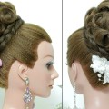 Bridal-hairstyle.-Updo-for-long-hair-tutorial