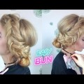 CUTE-HAIRSTYLE-EASY-DUTCH-FISHTAIL-BRAID-SIDE-BUN-UPDO-Awesome-Hairstyles