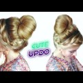 CUTE-HAIRSTYLE-FOR-MEDIUM-OR-LONG-HAIR-BRAIDED-BUN-UPDO-Awesome-Hairstyles