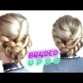 CUTE-HAIRSTYLE-FOR-MEDIUM-OR-SHORT-HAIR-EASY-BRAIDED-UPDO-Awesome-Hairstyles-