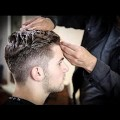 College-Haircut-For-Guys-Thick-Wavy-Combed-Back-Haircut-Tutorial