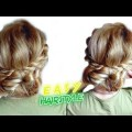 EASY-HAIRSTYLE-FOR-MEDIUM-HAIR-ROPE-BRAIDED-BUN-UPDO-Awesome-Hairstyles-