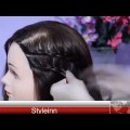 French-Lace-Braid-Updo-Hairstyle-Tutorial-English