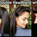 HEADBAND-with-PUFFEveryday-quick-easy-hairstyles-for-school-for-medium-to-long-hair-1