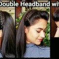 HEADBAND-with-PUFFEveryday-quick-easy-hairstyles-for-school-for-medium-to-long-hair