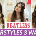 Heatless-Easy-3-Hairstyles-in-60-seconds-Hairstyle-Tutorial-Hairstyles-for-Long-Hair