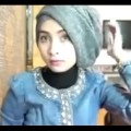 Hijab-Tutorial-for-graduation-or-party-by-Ellend-creative-commons-in-videos