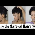Natural-Hair-3-Simple-and-Quick-Natural-Hair-Styles-Short-Natural-Hair