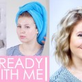Short-Hair-Routine-Get-Ready-With-Me-Milabu