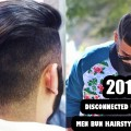 2017-Disconnected-Undercut-And-Men-Bun-Hairstyle-Top-Knot-Mens-hair-styling-