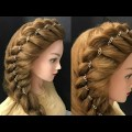 Awesome-Side-Braid-Hairstyle-with-Chain-Hairstyles
