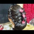 BRIDAL-HAIRSTYLEWEDDING-UPDO-FOR-LONG-HAIR-TUTORIAL