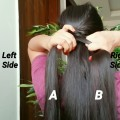 Criss-Cross-PonytailEveryday-hairstyles-for-schoolworkindian-hairstyles-for-medium-long-hair