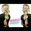 EASY-HAIRSTYLE-FOR-MEDIUM-OR-LONG-HAIR-EASY-BUBBLE-BRAID-Awesome-Hairstyles-