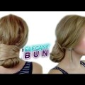 EASY-LAZY-HAIRSTYLE-FOR-LONG-HAIR-EASY-QUICK-ELEGANT-BUN-UPDO-Awesome-Hairstyles-