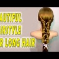 Hairstyles-for-long-hair-tutorial-Bridal-updo-mermaid-braid-Braided-hairstyle-tutorial