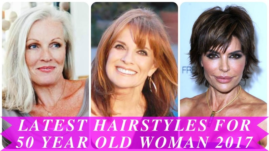 Hair Style 40 Year Old Woman: Latest Hairstyles For 50 Year Old Woman 2017
