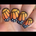 Nail-Art-Tutorial-Monarch-Butterfly-creative-commons-in-videos